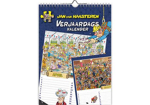 Comello  Jan van Haasteren - Birthday Calendar - 18x25