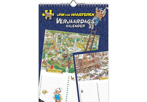Comello  Jan van Haasteren - Birthday Calendar - A4