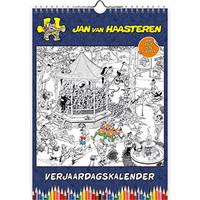 Jan van Haasteren - Kleurplaten Verjaardagskalender - A4