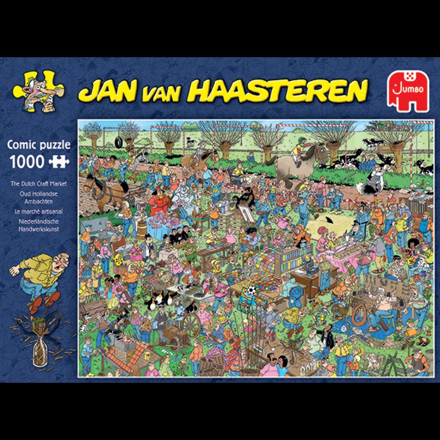 Oud Hollandse ambachten - Jan van Haasteren - 20046 - 1000 stukjes-2