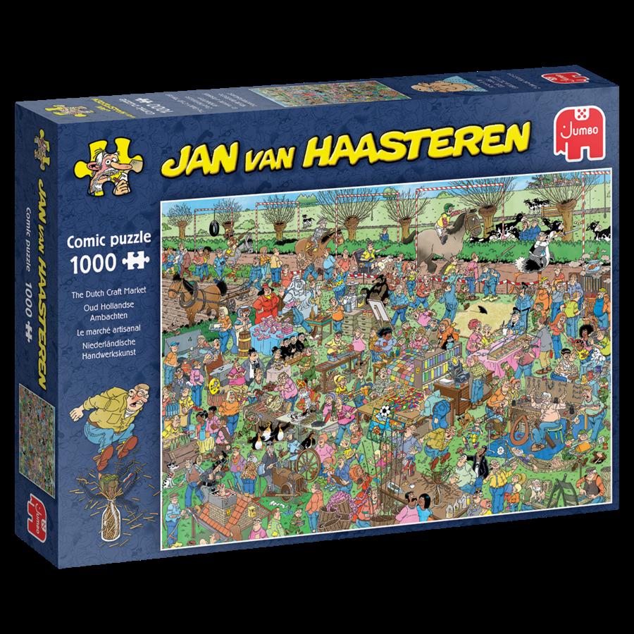Le marché artisanal - Jan van Haasteren - 20046 - 1000 pièces-3