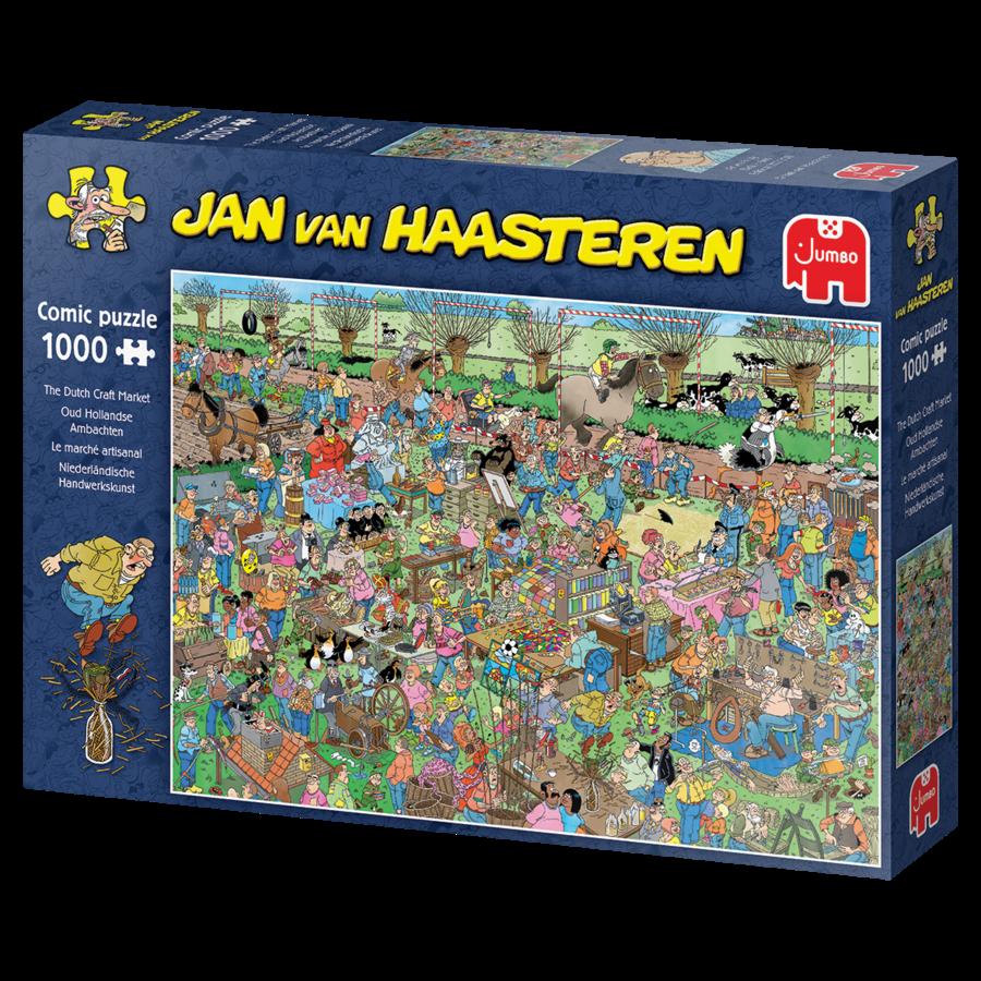 The Dutch Craft Markt -  Jan van Haasteren - 20046 - 1000 pieces-4