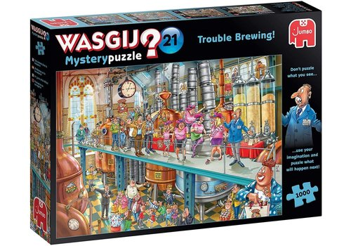 Jumbo Wasgij Mystery 21 - Trouble brewing - 1000 pièces