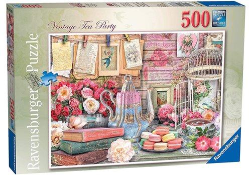 Ravensburger Vintage Tea Party - 500 pièces