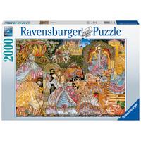 thumb-Cendrillon - puzzle de 2000 pièces-1