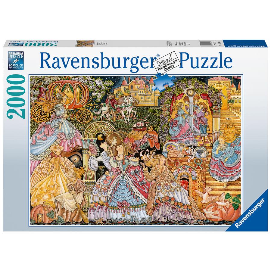 Cendrillon - puzzle de 2000 pièces-1
