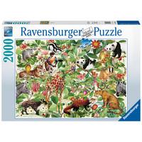 thumb-La Jungle - puzzle de 2000 pièces-1
