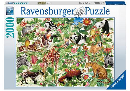 Ravensburger De Jungle - 2000 stukjes