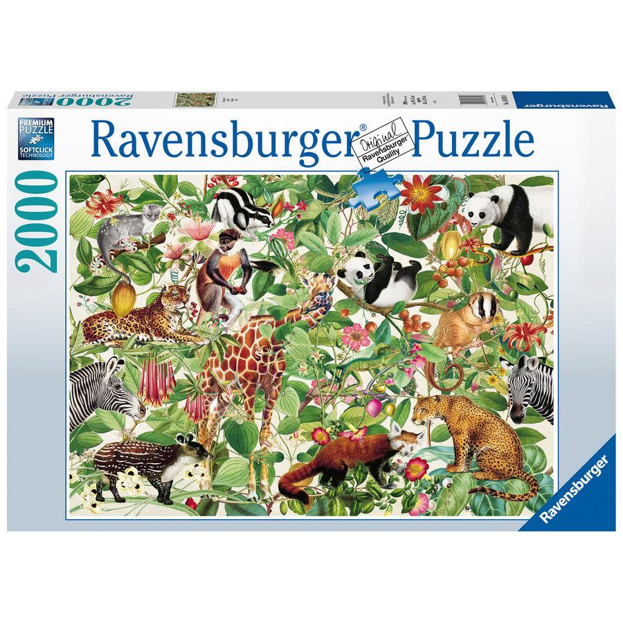 La Jungle - puzzle de 2000 pièces-1