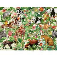 thumb-La Jungle - puzzle de 2000 pièces-2