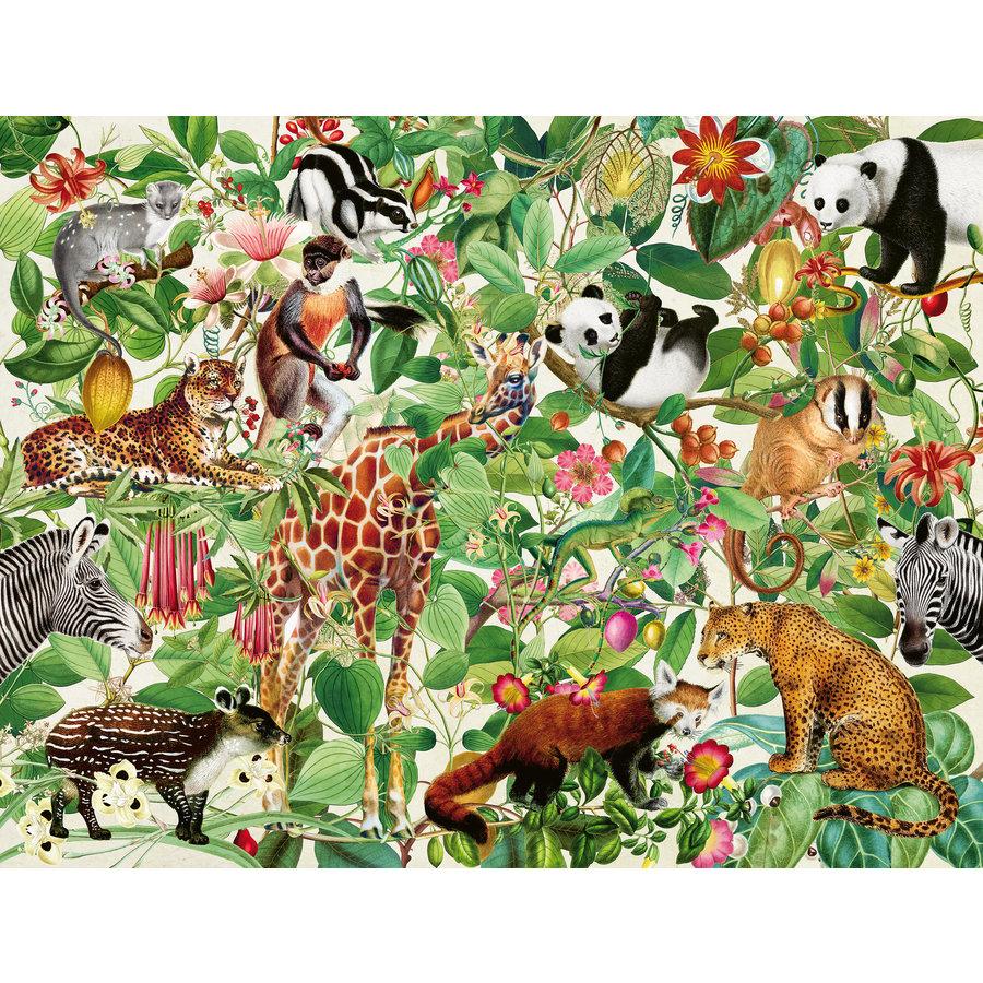 La Jungle - puzzle de 2000 pièces-2