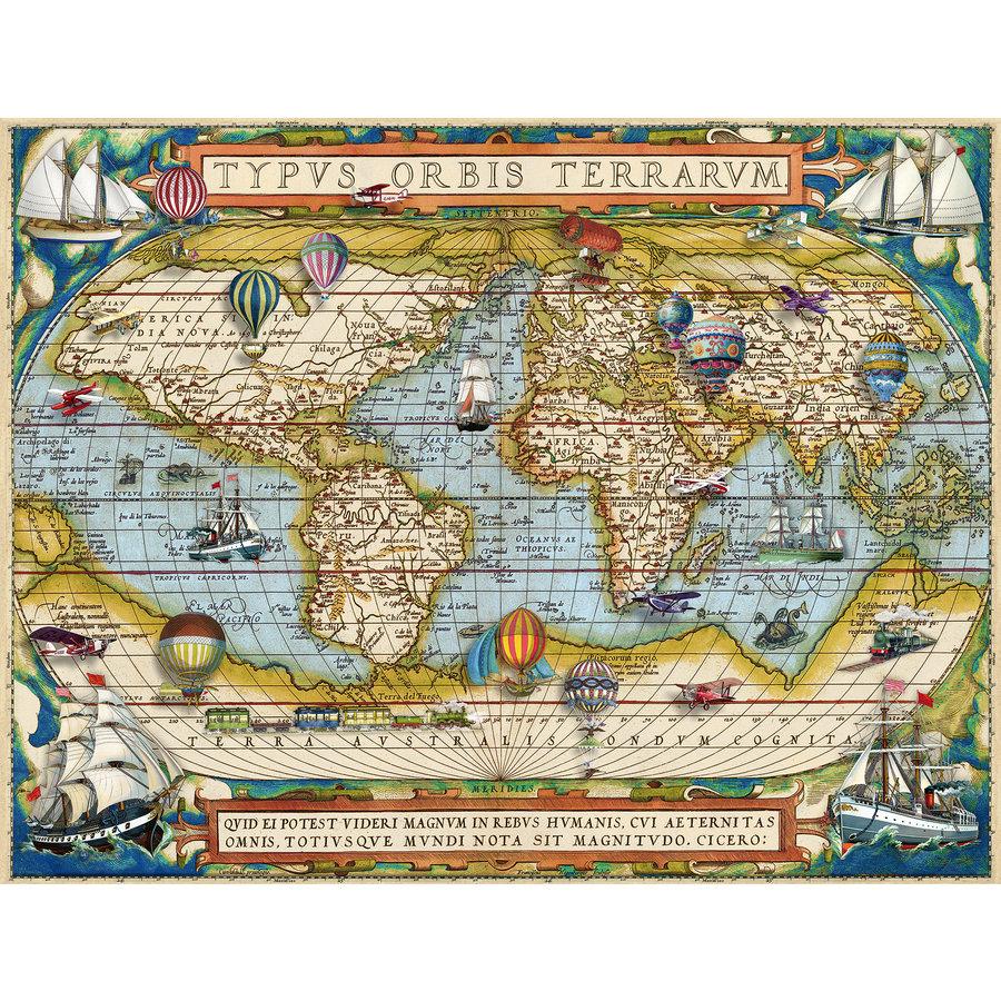 Autour du monde - puzzle de 2000 pièces-1