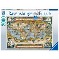 thumb-Autour du monde - puzzle de 2000 pièces-2