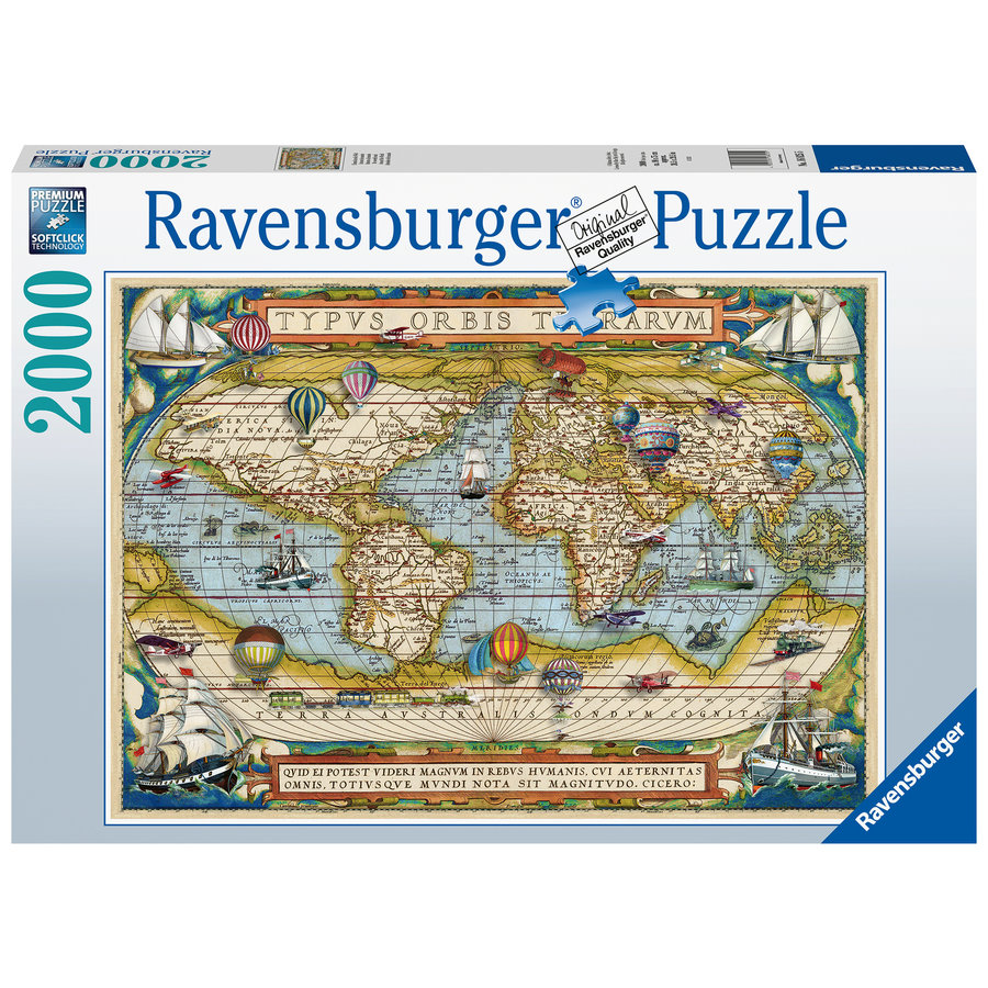 Autour du monde - puzzle de 2000 pièces-2