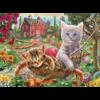SUNSOUT Les chats dans le hamac - puzzle de 300 XXL pièces