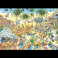thumb-Oasis - Jan van Haasteren - 1000 pièces-2