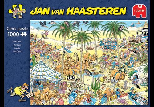 Jumbo The Oasis - Jan van Haasteren - 1000 pieces