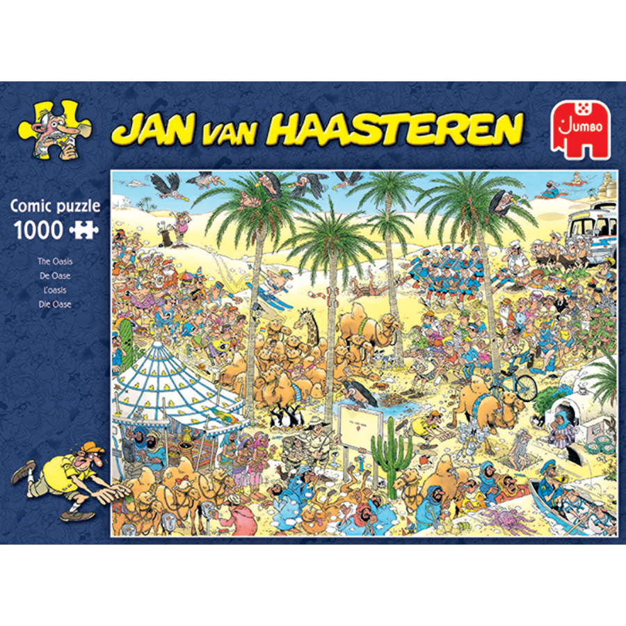 Oasis - Jan van Haasteren - 1000 pièces-1