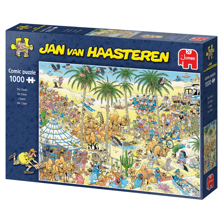 Oasis - Jan van Haasteren - 1000 pièces-4