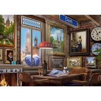 thumb-Delfts Café - puzzel van 1000 stukjes-2