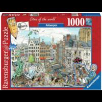 thumb-Antwerpen - Fleroux -  puzzel van 1000 stukjes-2