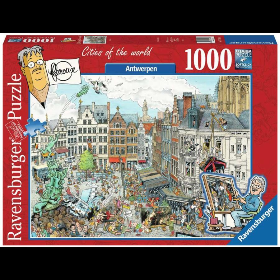 Antwerpen - Fleroux -  puzzel van 1000 stukjes-2