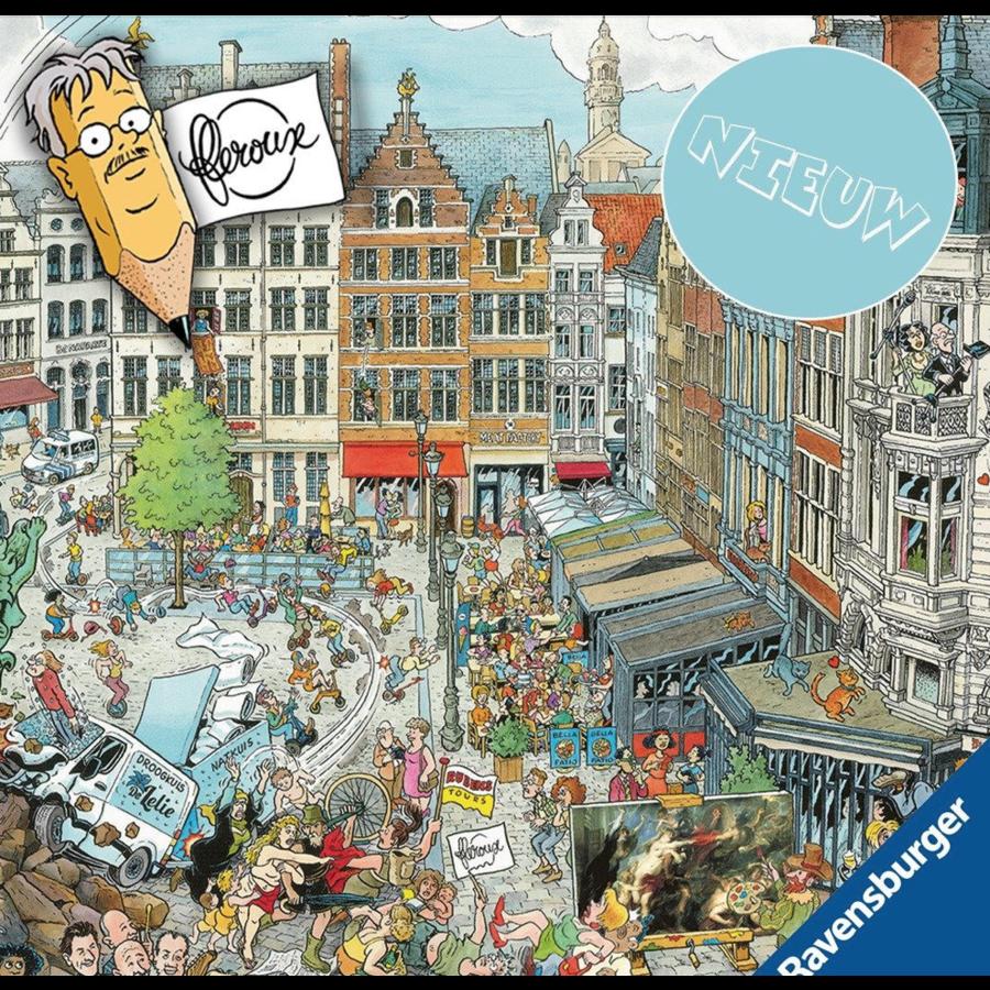 Antwerpen - Fleroux -  puzzel van 1000 stukjes-1