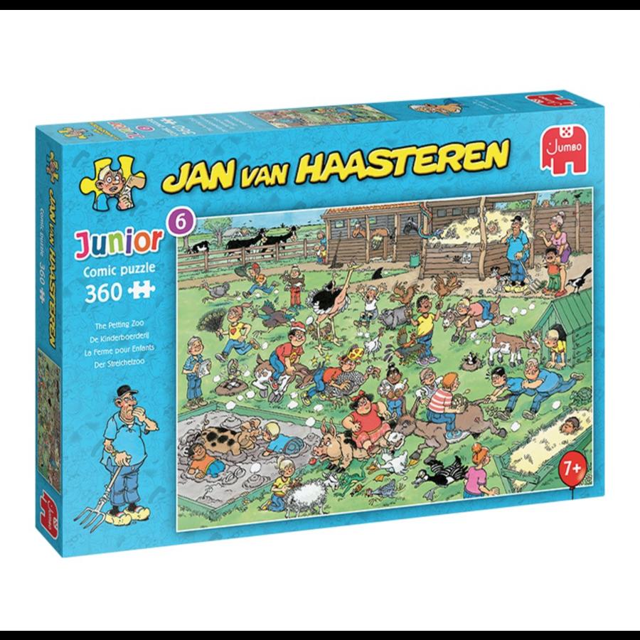 PRE-ORDER: La Ferme pour enfants - Jan van Haasteren -360 pièces-1