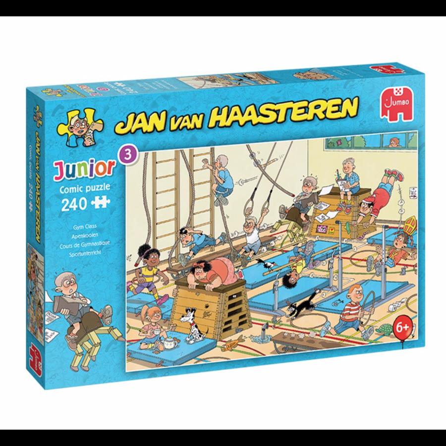 PRE-ORDER: Cours de gymnastique - Jan van Haasteren -240 pièces-1