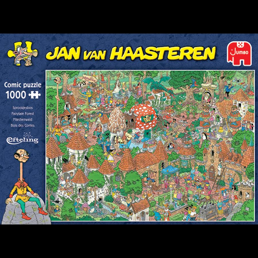 Bois des Contes - Efteling - Jan van Haasteren - 20045 - 1000 pièces-3