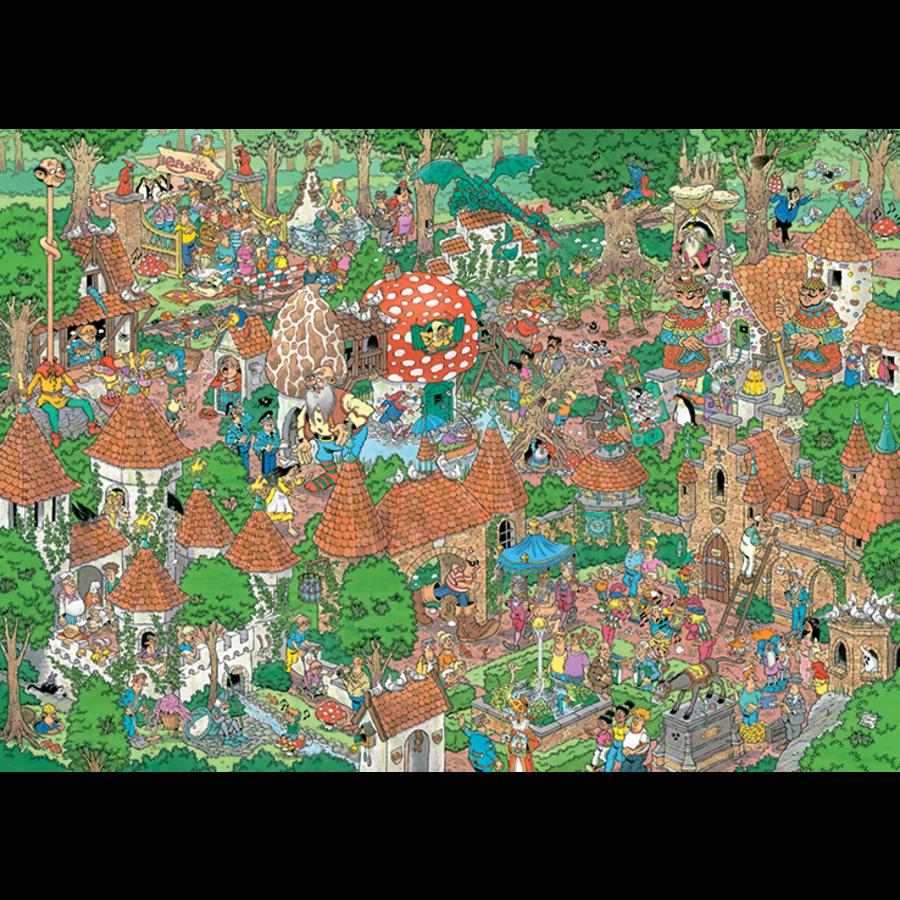Efteling - Het sprookjesbos - Jan van Haasteren - 20045 - 1000 stukjes-4
