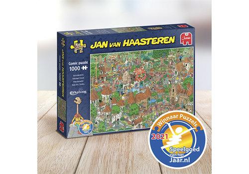 Jumbo Efteling - Het sprookjesbos - JvH - 20045  - 1000 stukjes
