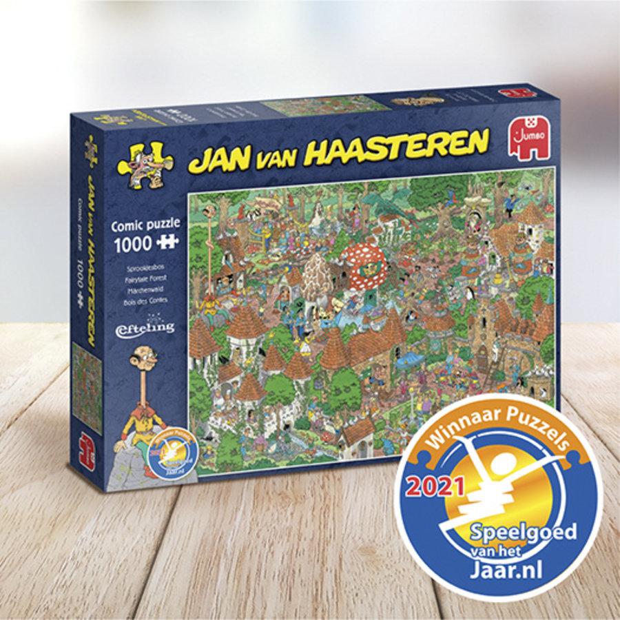 Bois des Contes - Efteling - Jan van Haasteren - 20045 - 1000 pièces-1
