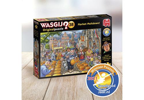 Jumbo Wasgij Original 38 - Market Meltdown - 1000 pièces