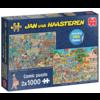 Jumbo Muziekwinkel / Vakantiekriebels - JvH - 2 puzzels van 1000 stukjes