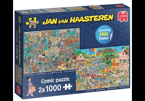 Jumbo PRE-ORDER: Muziekwinkel / Vakantiekriebels - JvH - 2 x 1000 stukjes