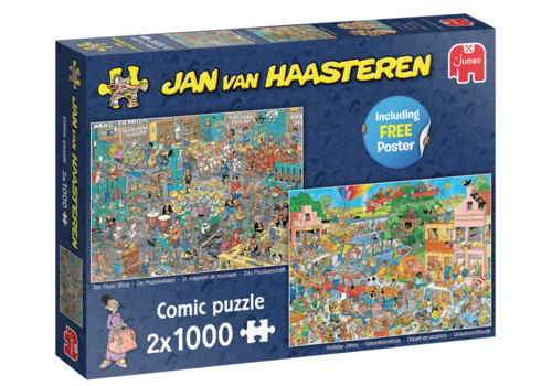 Jumbo PRE-ORDER: The Music Shop / Holiday Jitters - JvH - 2 x 1000 pieces