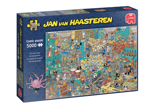 Jumbo PRE-ORDER: The Music Shop - JvH - 5000 pieces