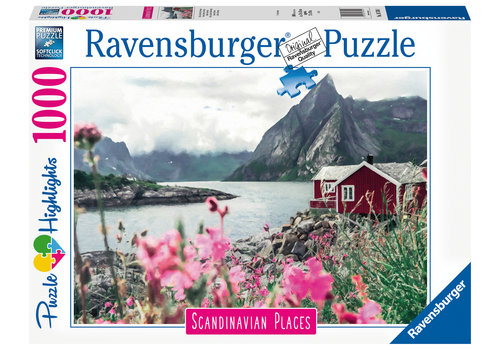 Ravensburger Reine - Lofoten - Noorwegen - 1000 stukjes