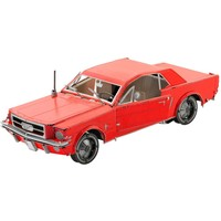 thumb-Ford Mustang 1965 Coupé Rood - 3D puzzel-1
