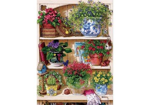 Cobble Hill Armoire à Fleurs - 500 pièces XL