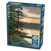 thumb-Canoe Lake - puzzel van 500 XL stukjes-2