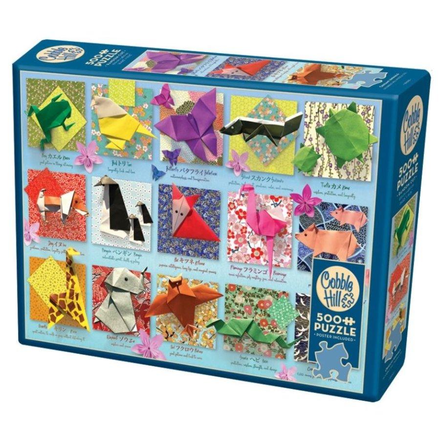 Origami  - puzzel van 500 XL stukjes-2