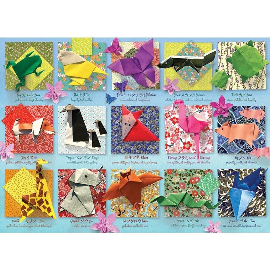 Origami  - puzzel van 500 XL stukjes-1