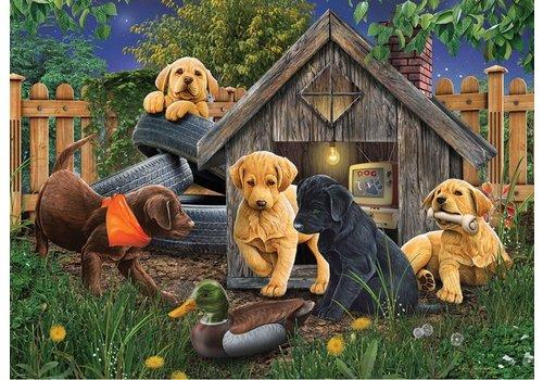Cobble Hill In het Hondenhok - 1000 stukjes