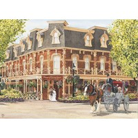 thumb-Hotel Prince of Wales - puzzel van 1000 stukjes-1