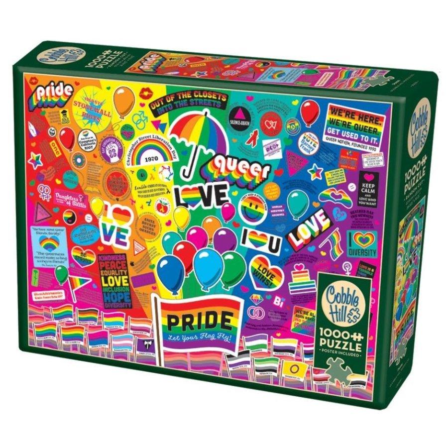 Pride - puzzel van 1000 stukjes-2