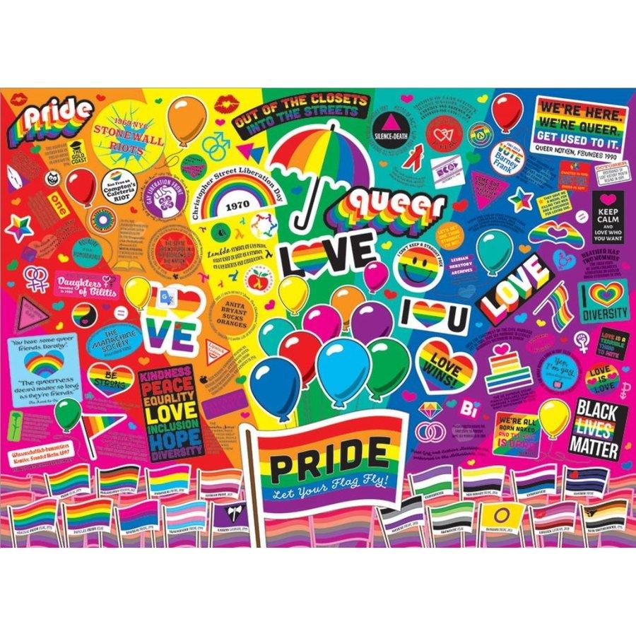 Pride - puzzel van 1000 stukjes-1