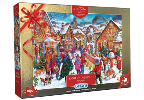 Gibsons Light up the light - Limited Edition - 1000 pieces