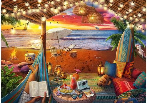 Ravensburger Coucher de soleil sur la plage - 500 pièces XL